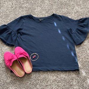 Navy Blue Sweater-shirt